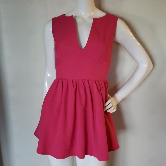 Lulu's Dresses & Skirts - LULU'S pink mini dress
